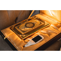 "Quran pen Model ""Golden Glow"""